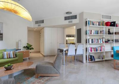 דירה תל אביבית צבעונית צעירה וחמימה