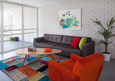 דירה צבעונית ברמת אביב