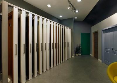 חלל תצוגה דלתות חמדיה - מיתקן דלתות נשלפות