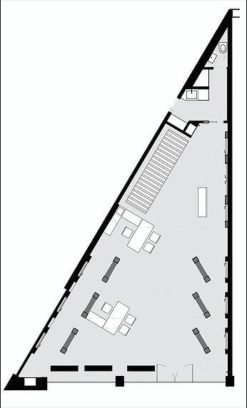 תכנית העמדה - חלל תצוגה דלתות חמדיה