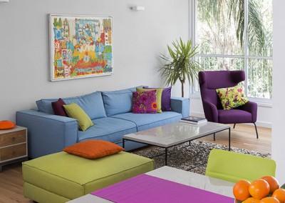 דירה נועזת במעוז אביב בתל אביב