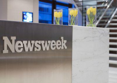 משרדי NewsWeek ניו-יורק