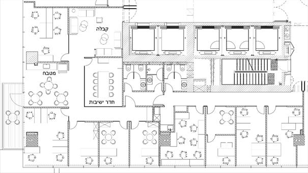 תכנון משרדים ללא לקוח קצה 1#